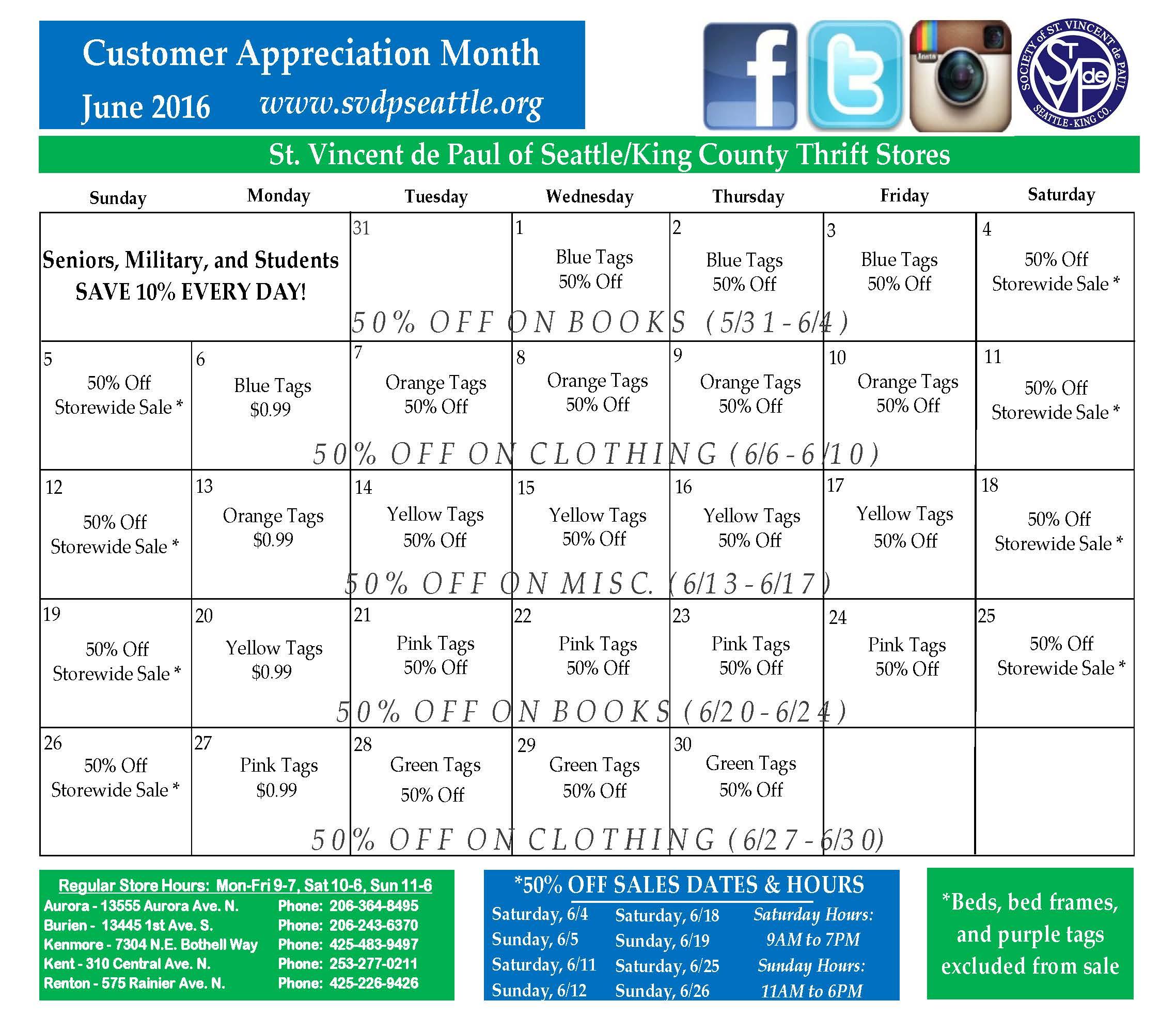 Final June Store Calendar