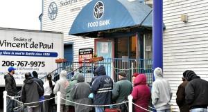 Food Bank Line 10-22-15