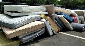 pile of mattresses. Pile Of Mattresses 10-29-15