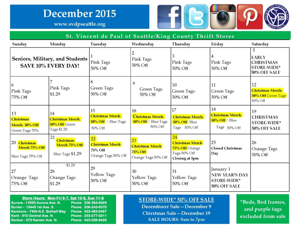 Dec. 2015 Calendar Rev 3 X-Mas Merch highlighted-- 11-20-15