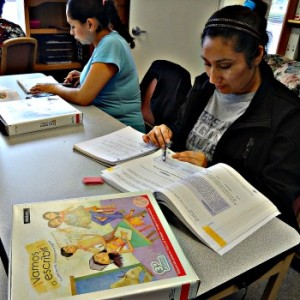 Hispanic Woman in Class 11-3-14