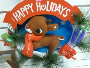 X-mas Aurora 12-1-15 Rudolph Wreath