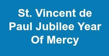 St. Vincent & Jubilee Year of Mercy!