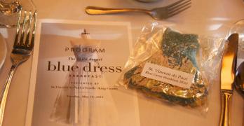Relive Blue Dress Breakfast