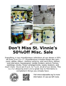 50% Off Miscellaneous 6-8-16