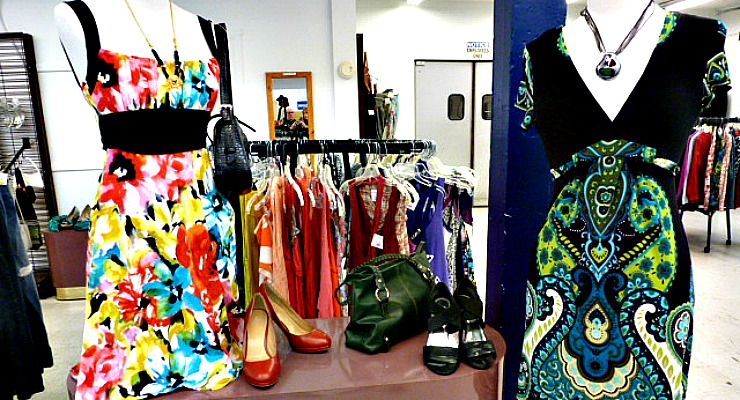 Summer Bright Color Dress Display 6-20-16 site