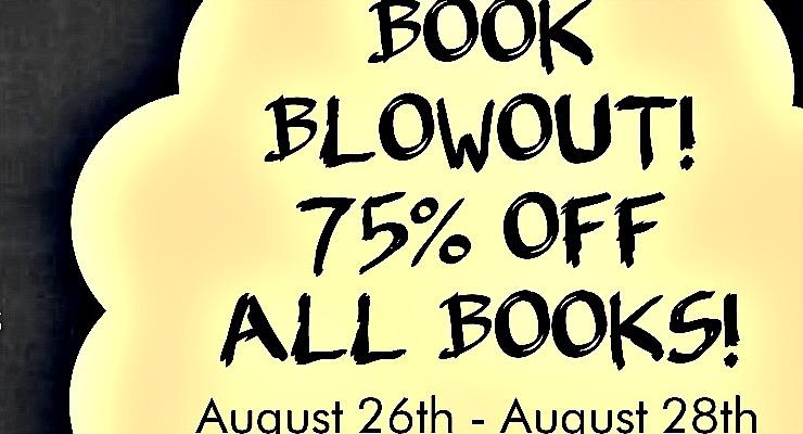 Book Blowout 8-23-16