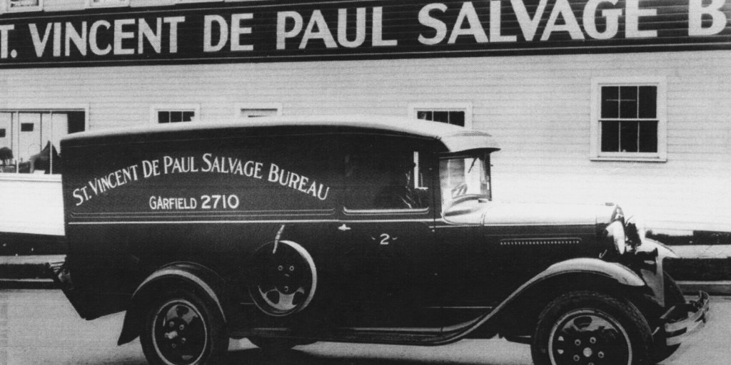 One of the old SVdP trucks.