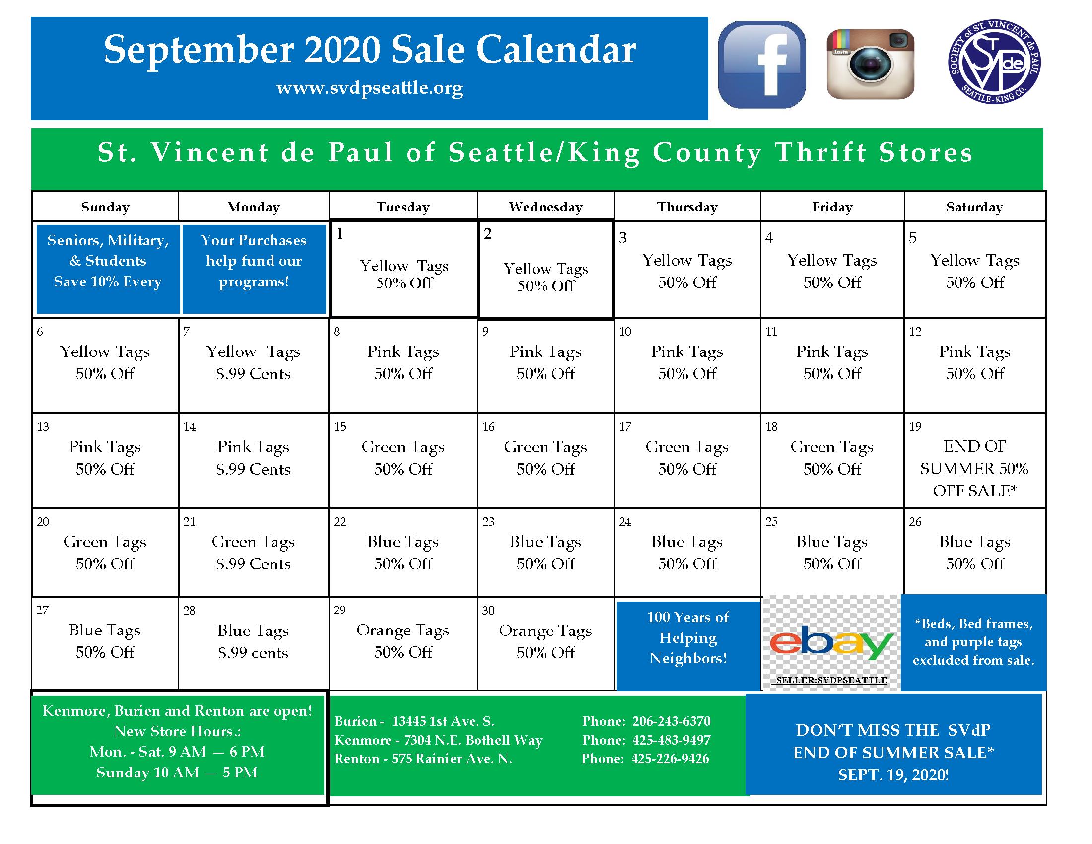 September 2020 Calendar 9-2-20